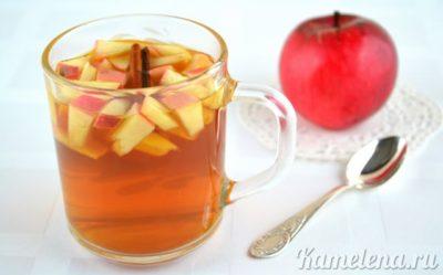 компот из яблок и боярышника на зиму