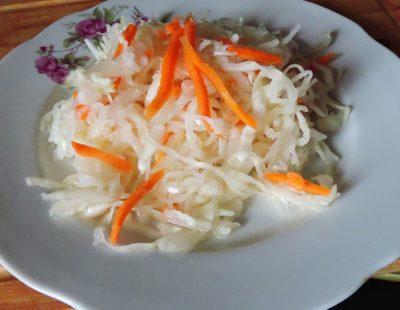 как солить капусту с морковью