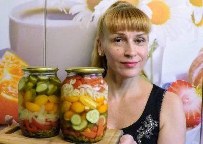 огурцы на зиму салатные