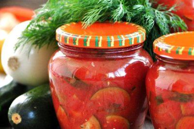 баклажаны на зиму с помидорами