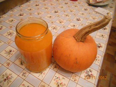 сок из тыквы с мякотью в домашних условиях на зиму