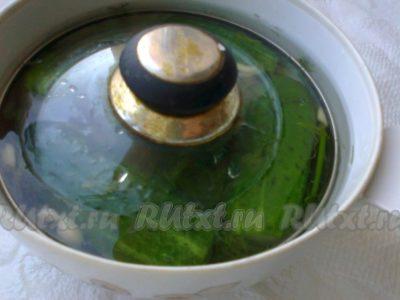 рассол для огурцов на 1 литр с уксусом