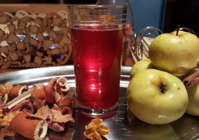 компот из малины и яблок на зиму
