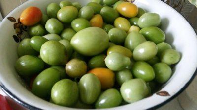 варенье из зеленых помидор