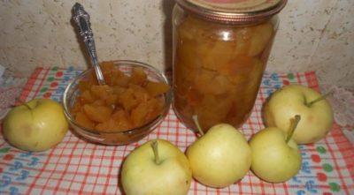 яблоки в сиропе на зиму дольками