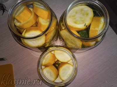 кабачки на зиму с лимонной кислотой