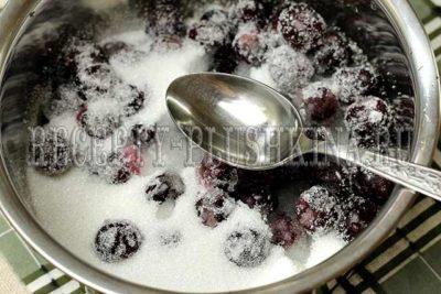 пятиминутка из черной смородины на зиму