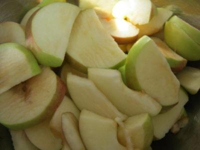 яблоки дольками на зиму в домашних условиях