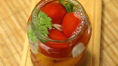 помидоры в желе на зиму обалденные