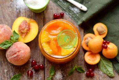 слива с апельсином на зиму