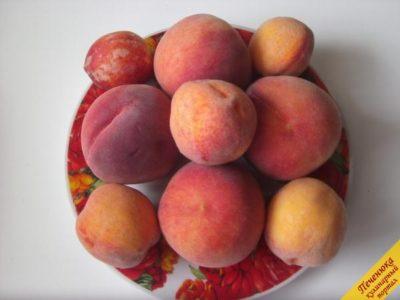 как сушить персики