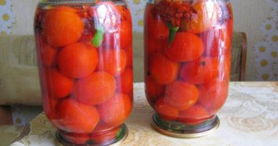огурцы на зиму с морковной ботвой