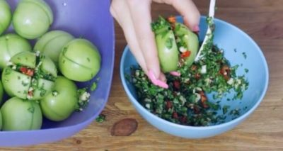 помидоры по армянски на зиму