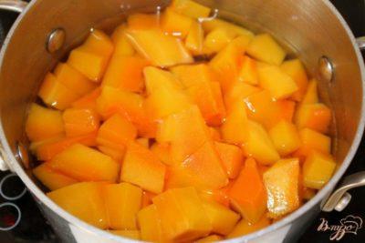 компот из тыквы на зиму с апельсином