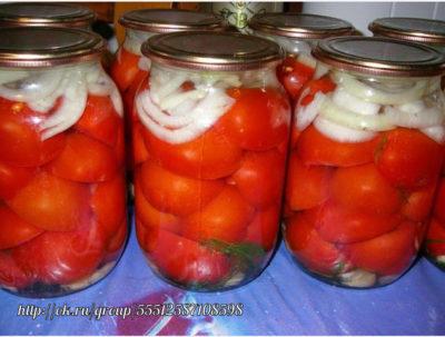 как солить помидоры в желатине