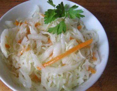 как посолить капусту без уксуса