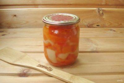 перец в медовой заливке на зиму