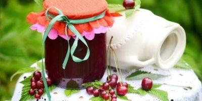 джем из вишни и смородины