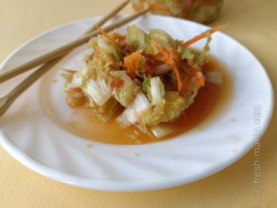 кимчи из белокочанной капусты на зиму