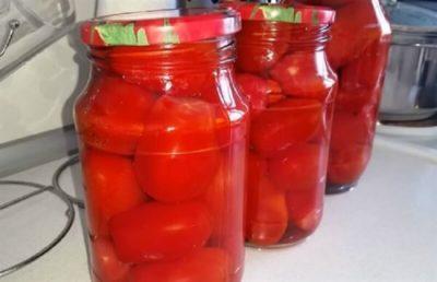 маринованные помидоры на двухлитровую банку
