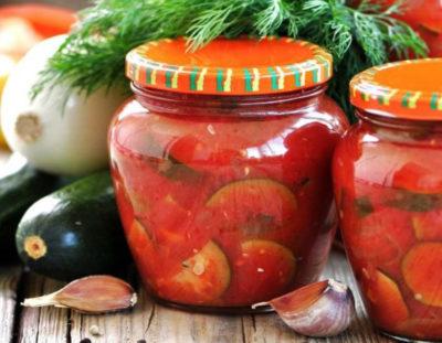 перец на зиму с помидорами