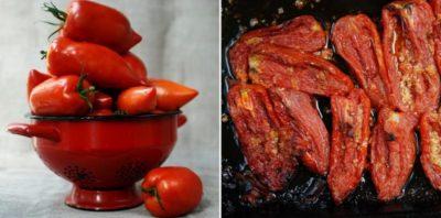 как сушить помидоры в электросушилке