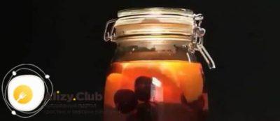 компот из черешни на зиму на 3 литра