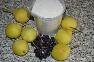 варенье из черноплодной