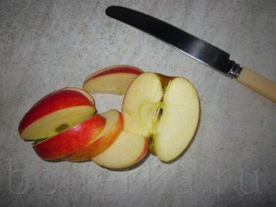 как резать яблоки для сушки