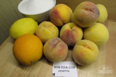варенье из персиков без косточек