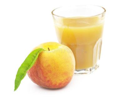 персиковый сок на зиму