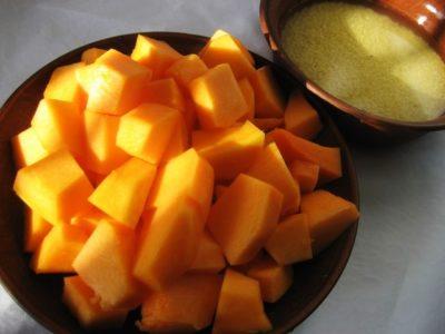 тыква с апельсином на зиму