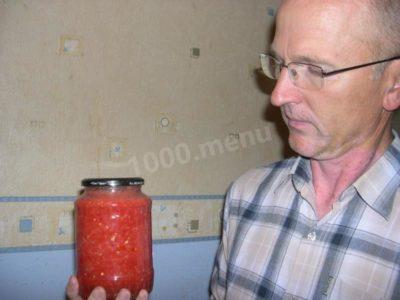 горлодер из помидор на зиму