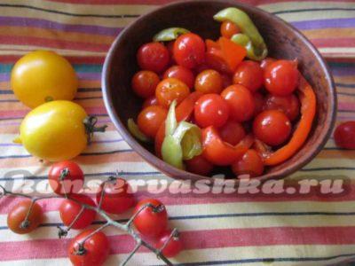 как мариновать помидоры черри на зиму в банках