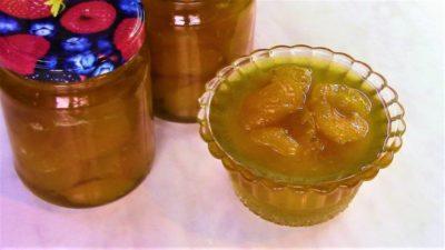 варенье из абрикосов с мятой