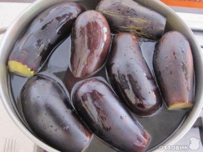 баклажаны соленые по азербайджански