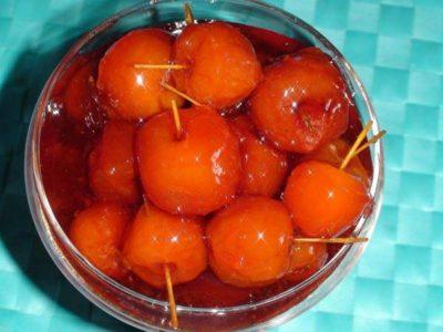 варенье черешня с апельсином
