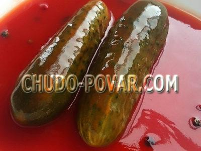 засолка огурцов на зиму с кетчупом чили