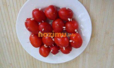 помидоры на зиму ежики с чесноком