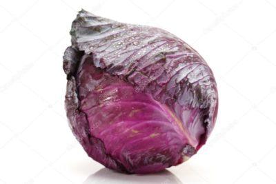 у капусты фиолетовые листья что делать