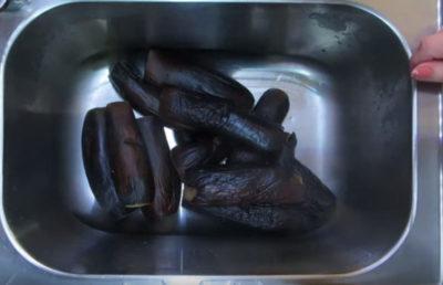 баклажаны на зиму соленые с чесноком