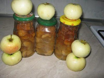 варенье из осенних яблок