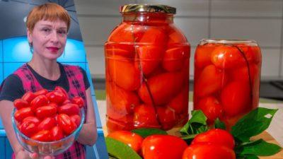 что сделать из красных помидор на зиму