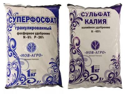 фосфорно калийные удобрения для клубники
